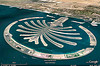 dubai world - palm jumeirah islands aerial - google earth