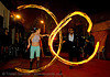 lisa and john-paul - LSD fuego, fire dancer, fire dancing, fire performer, fire poi, fire spinning, flames, john-paul, lisa, long exposure, los sueños del fuego, lsd fuego, night, spinning fire