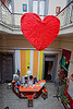 hostel clan - buenos aires, buenos aires, heart, hostel clan, lobby, love, red