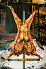 lamb barbecue, barbecue, bbq, buenos aires, carcass, cooked, cooking, crucified, la estancia, lambs, meat, restaurant, ribs, roasting, wood fire