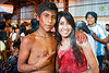 carnaval - carnival in jujuy capital (argentina), andean carnival, carnaval, couple, jujuy capital, man, noroeste argentino, san salvador de jujuy, talk powder, woman