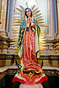 la virgen de guadalupe - san francisco church (salta, argentina), baroque, church, crescent, iglesia san francisco, madonna, moon, noroeste argentino, nuestra señora de guadalupe, our lady of guadalupe, red, religion, sacred art, salta capital, sculpture, statue, virgen de guadalupe, virgin mary, virgin of guadalupe