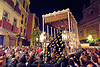 hermandad de las penas de san vicente - semana santa en sevilla, andalucía, candles, cofradía, easter, embroidery, float, goldwork, hermandad de las penas de san vicente, madonna, night, parade, paso de la virgen, procesión, procession, religion, sacred art, semana santa, sevilla