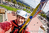 riding the zip-line over san francisco