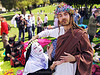jesus christ and nun - the sisters of perpetual indulgence - easter sunday in dolores park, san francisco