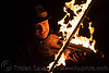 playing fire violin, david shuttleworth, fire performer, fire violin, firish, flames, man, night, playing, violinist