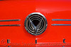 1958 buick special coupe - red - logo (san francisco), 1958, automobile, buick special, classic car, concentric circles, coupe, red