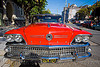 1958 buick special coupe - red - front (san francisco), 1958, automobile, buick special, classic car, coupe, front, grid, red