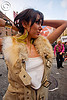 woman - fur - how weird street faire (san francisco), fur, how weird festival, woman