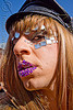 mirror bindis - dore alley fair, bindis, cap, dore alley fair, drag, lucas, man, mirrors, purple