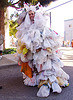 weird costume - plastic grocery bags (san francisco), costume, grocery bags, how weird festival, plastic bags, recycle, recycled, recycling