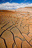 cracked mud - desert