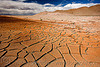 cracked mud - dry desert