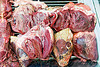 beef hearts, beef hearts, butcher, meat market, meat shop, mercado central, noroeste argentino, organs, raw meat, salta