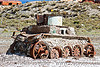 old rusty army tank - uyuni (bolivia), abandoned, army, enfe, fca, military, railway, rusted, rusty, scrapyard, tank, train cemetery, train graveyard, train junkyard, uyuni