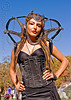 gia - fashion design, burning man decompression, corset, fashion, gia, model, woman