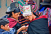 cellphone used by tribe women, cellphones, hats, headdress, headwear, indigenous, people, phones, quechua, tarabuco, technology, traditional, tribal, tribe, women
