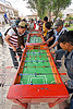 table football - fussball - baby-foot, baby-foot, foosball, fussball, people, playing, table football, tarabuco