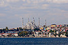 sultanahmet skyline with the blue mosque (istanbul), blue mosque, islam, istanbul, minarets, religion, sultanahmet