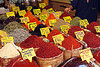 spices, bazaar, istanbul, powder, price, signs, spice market, spices
