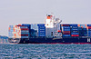 container ship - hanjin montevideo (from south korea)