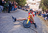 "BYOBW - ""bring your own big wheel"" race - toy tricycles (san francisco), big wheel, byobw 2011, drift trikes, moving fast, people, potrero hill, race, speed, speeding, toy tricycle, toy trike, trike-drifting"