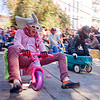 "BYOBW - ""bring your own big wheel"" race - toy tricycles (san francisco), big wheel, byobw 2011, drift trikes, moving fast, pink elephant costume, potrero hill, race, speed, speeding, toy tricycle, toy trike, trike-drifting"
