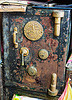 eagle safe, antique, closed, eagle brand, fire resisting, kuching, rusted, rusty, safe door, strong