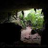 painted cave - gua niah - niah national park (borneo), archaeology, backlight, cave formations, cave mouth, caving, concretions, gua niah, jungle, natural cave, niah caves, niah painted cave, rain forest, speleothems, spelunking, stalactites