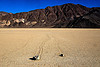 racetrack - sailing stones - death valley, cracked mud, death valley, desert, dry lake, dry mud, mountains, racetrack playa, sailing stones, sliding rocks, tracks