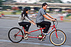 couple on tandem