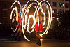 fire dancing expo (san francisco), fire dancer, fire dancing expo, fire hoops, fire hula hoops, fire performer, fire spinning, flames, long exposure, night, spinning fire, temple of poi