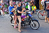 riding a motorbike in indonesia