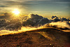 sunrise on mount semeru, clouds, gunung semeru, java, mount semeru, mountains, semeru volcano, smoke, summit, sun, sunrise, trekking