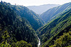 big sur canyon, big sur river, canyon, forest, gorge, pine ridge trail, stream, trees, trekking, valley, vantana wilderness