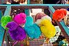 rainbow colored chicks, baby chickens, bird cage, bird market, birds, colored chicks, java, jogja, jogjakarta, poultry, rainbow chicks, rainbow colors, yogyakarta