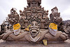 sculpture in the pura luhur poten temple near bromo