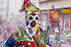 creole traditional mask - choukaj at the carnaval tropical de paris, caribbean, carnaval tropical, carnival, choukaj, costumes, creole, créole, festival, guadeloupe, indigenous culture, mask, masked, parade, paris, traditional, tribal, west indies