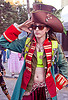 pirate costume with large hat, burning man decompression, pirate costume, woman