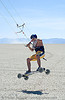 kite all terrain board - ATB (black rock desert, nevada), air, all terrain board, atb, black rock desert, jump, kite atbing, kitesurfer, kitesurfing, landboard, landsailing, playa, sailing, speedsailing