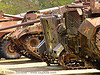 US tanks - war - vietnam, american, army tank, hué, memorial, military, museum, rusted, rusty, tanks, vietnam war