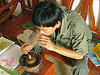 large smoking pipe - vietnam, pipe, smoker, smoking