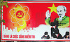nuclear communist sign - vietnam, atomic, communism, communist sign, energy, hammer and sickle, nuclear, propaganda, red, star, yellow