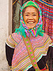 flower h'mong woman - vietnam, asian woman, flower h'mong tribe, flower hmong, hill tribes, indigenous, mature woman, old woman