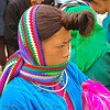tribe woman with interesting hairdo - vietnam