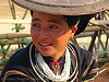"""lo lo den"" tribe woman - vietnam, asian woman, black lo lo tribe, bảo lạc, hill tribes, indigenous, lo lo den tribe"
