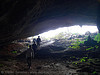 large cave on islet near cat ba - vietnam, cat ba island, cave mouth, caving, cát bà, grotto, halong bay cave, islet, natural cave, spelunking